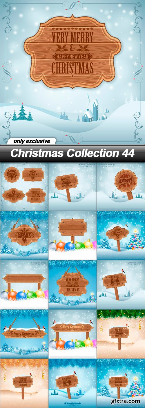 Christmas Collection 44 - 16 EPS