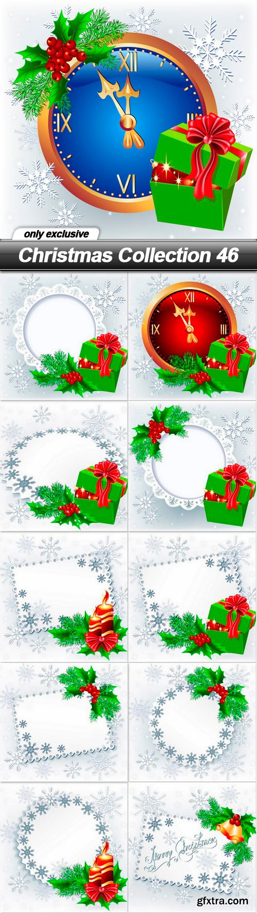 Christmas Collection 46 - 11 EPS