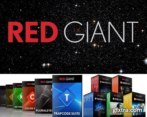 Red Giant Complete Suite 2017 for Adobe CS5 - CC 2018 (Updated 29.11.2017) (macOS)