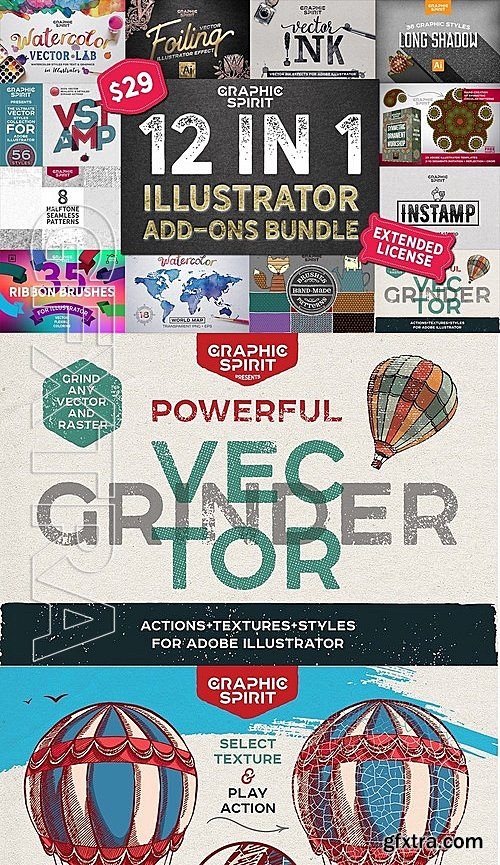 CM - 12 in 1 ILLUSTRATOR Bundle SALE 2014148