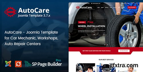ThemeForest - Auto Care v2.1 - Joomla Template for Car Mechanic, Workshops, Auto Repair Centers - 19794756