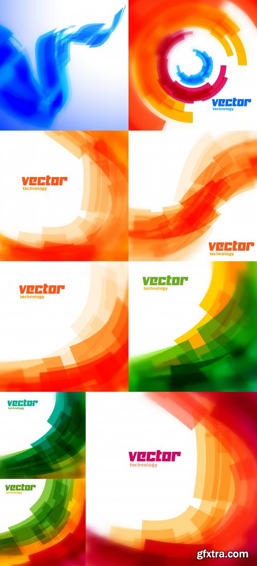 Vector technology background