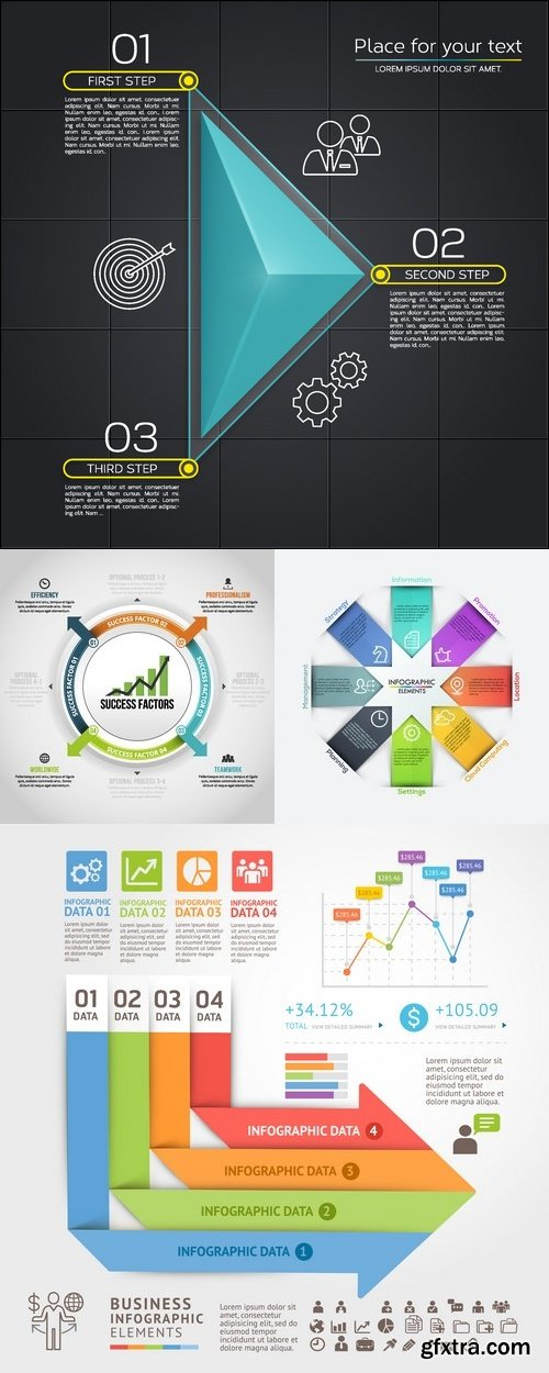 Vectors arrows infographics backgrounds 51 vector photoshop vectors arrows infographics backgrounds 51 ccuart Image collections