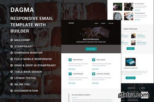 CM - Dagma - Responsive email template 794470