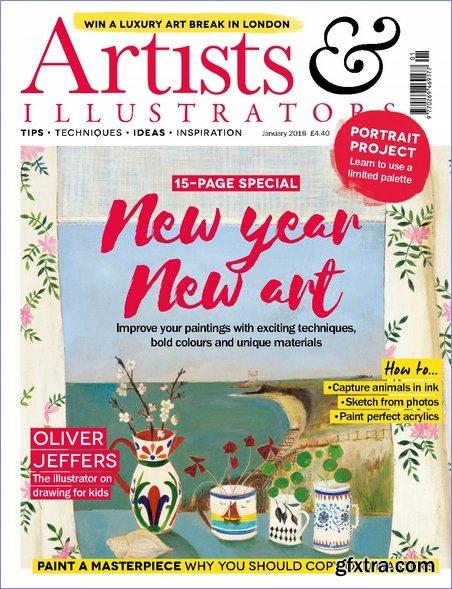 Artists & Illustrators - January 2018