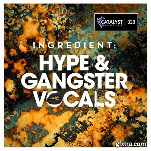 Catalyst Samples Ingredient Hype and Gangster Vocals WAV