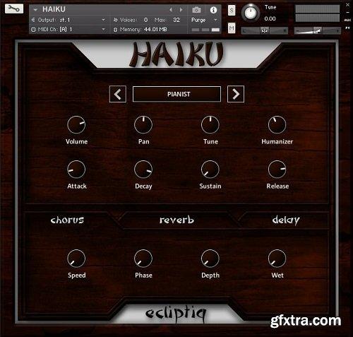 Ecliptiq Audio Haiku KONTAKT-SYNTHiC4TE