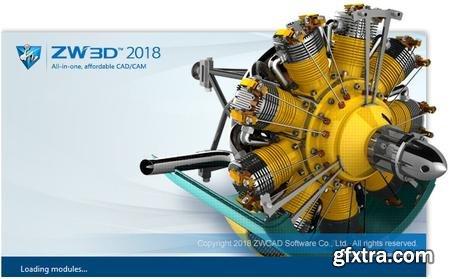 ZWCAD ZW3D 2018 v22.00