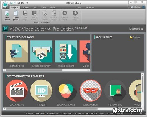 VSDC Video Editor Pro 6.4.1.70/71 (x86/x64) Multilingual