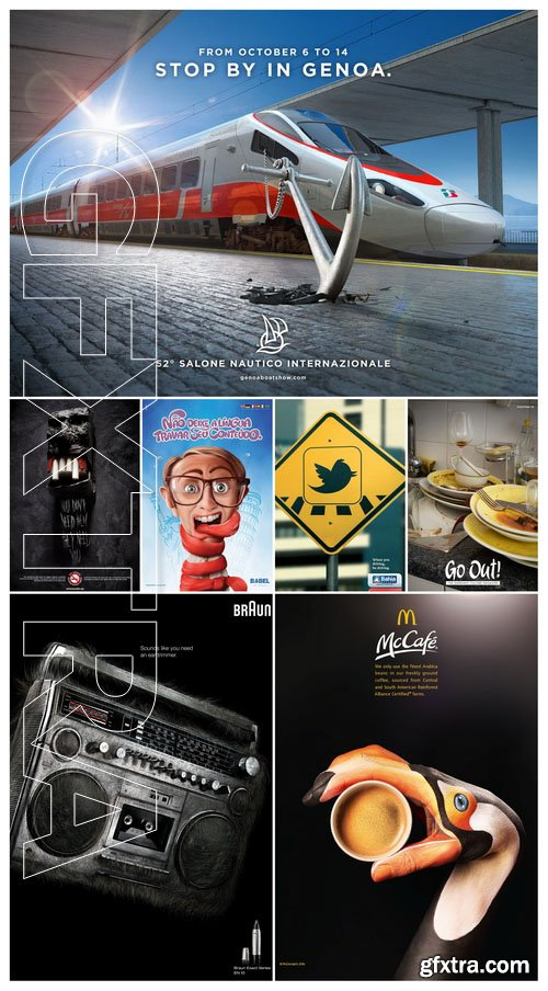 50 Advertising prints 41