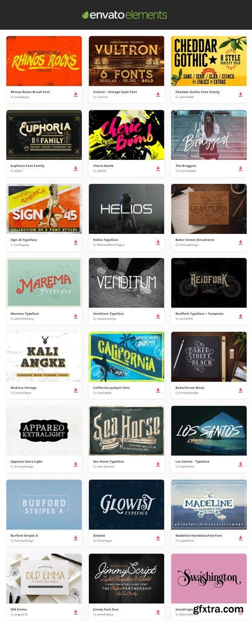 Envato Elements - Decorative Font