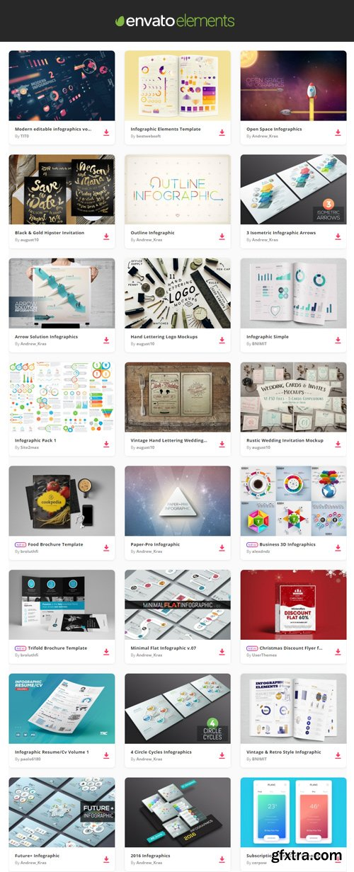 Envato Elements - Infographics