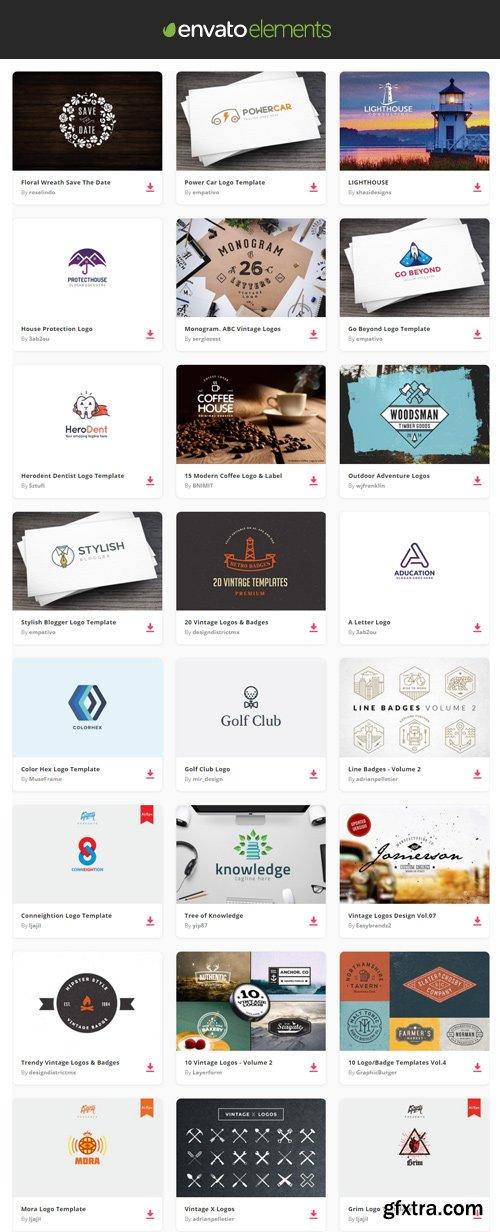 Envato Elements - Logos
