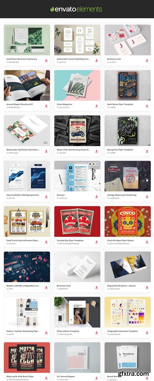 Envato Elements - Print Templates