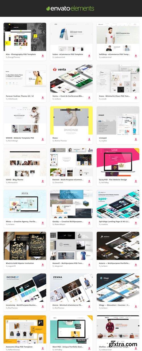 Envato Elements - Websites