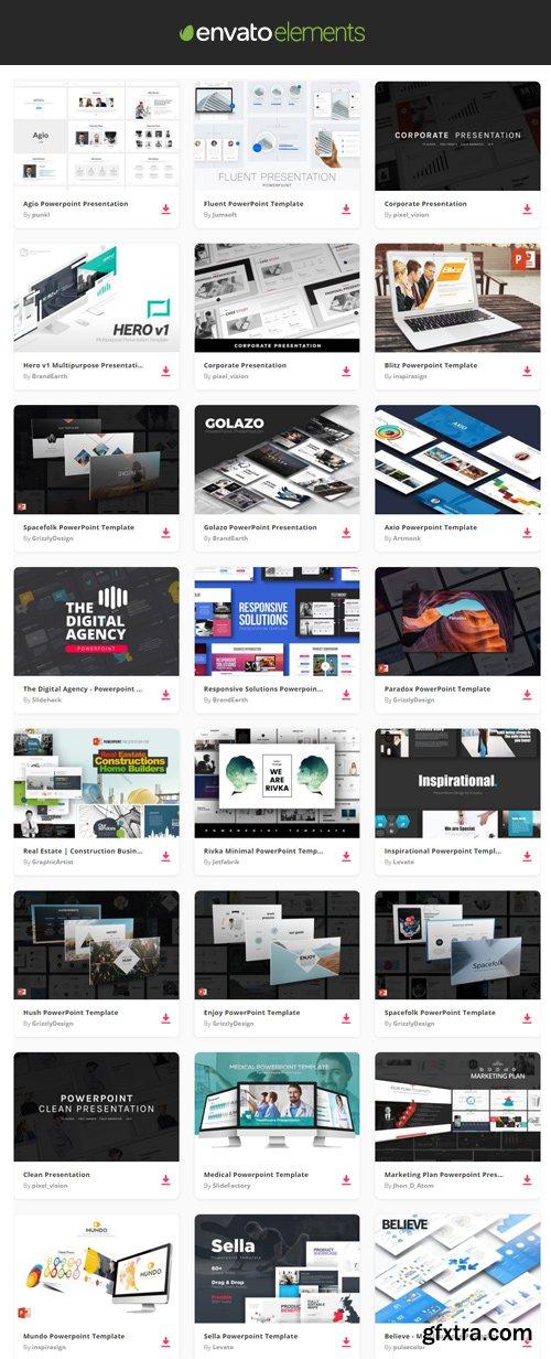 Envato Elements - PowerPoint Presentation Templates