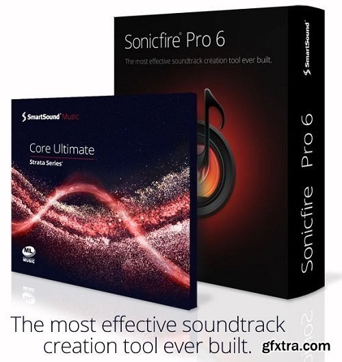 SmartSound SonicFire Pro 6.0.2 with for After Effects. Premiere Pro, Vegas Pro