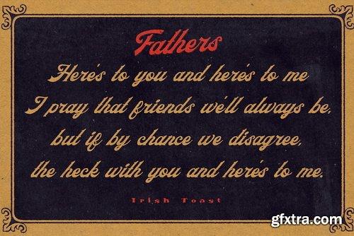 Fathers Font