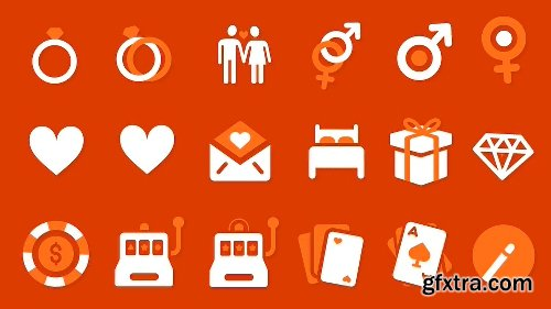 Videohive 500 Animated Icons 5586340