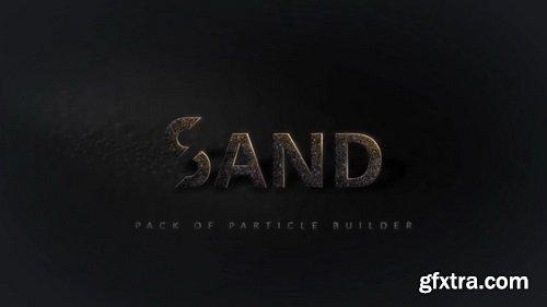 Videohive - Particle Builder   Sand Pack: Sand Dust Storm Disintegration Particle Effect Vfx Generator - 21088788