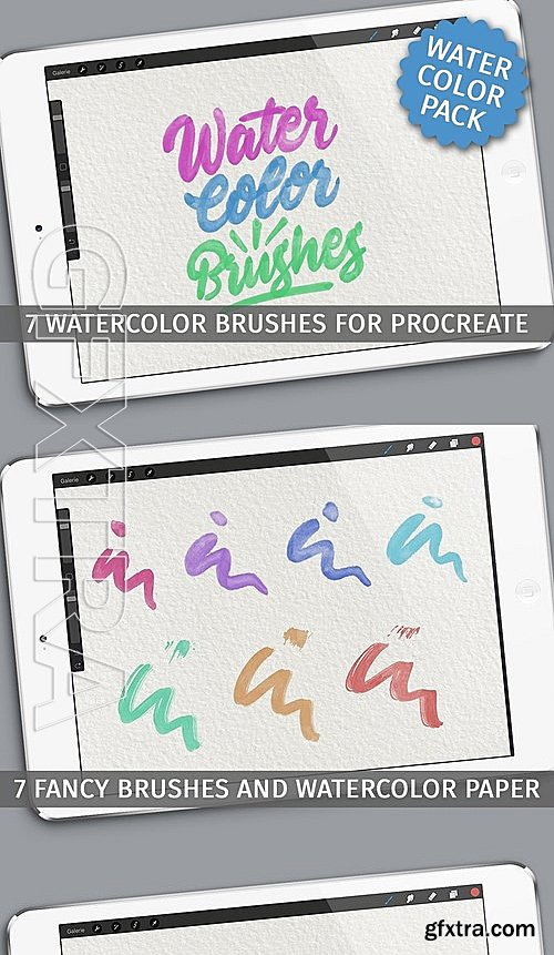 CM - Watercolor brushes for Procreate app 2118125