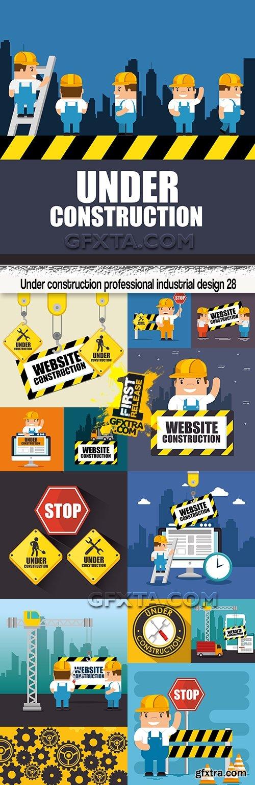 Under construction professional industrial design 28