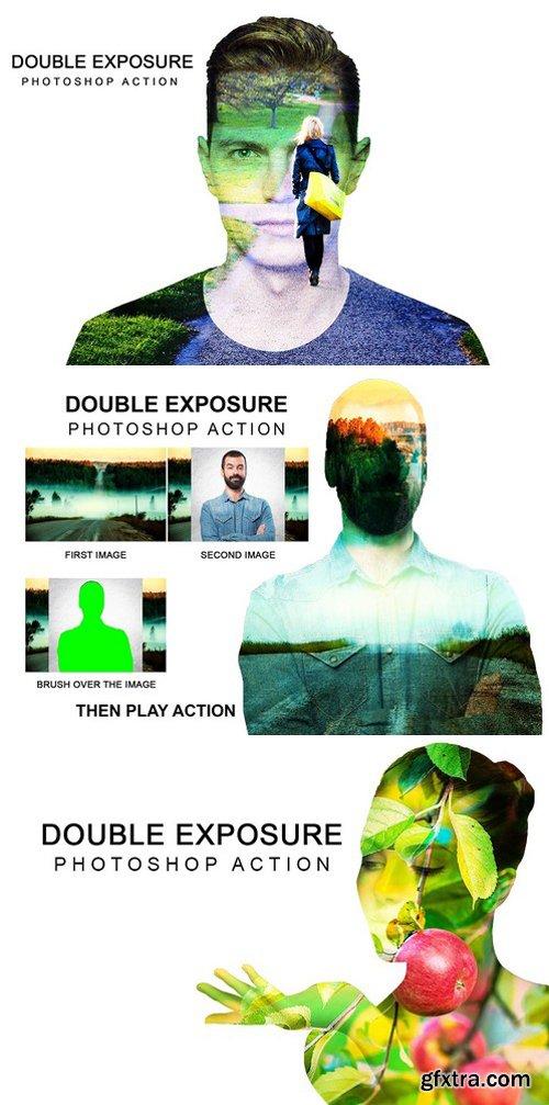 CM - Double Exposure Photoshop Action 2070513
