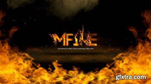 MotionVFX - mFire 2K - 150 Organic Fire Elements for AE, Premiere and Final Cut Pro X (macOS)