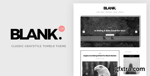 ThemeForest - Blank v1.0 - Gray-style Classic Tumblr Theme - 20814783