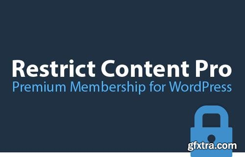 Restrict Content Pro v2.9.7 - Powerful Membership Solution For WordPress + Add-Ons