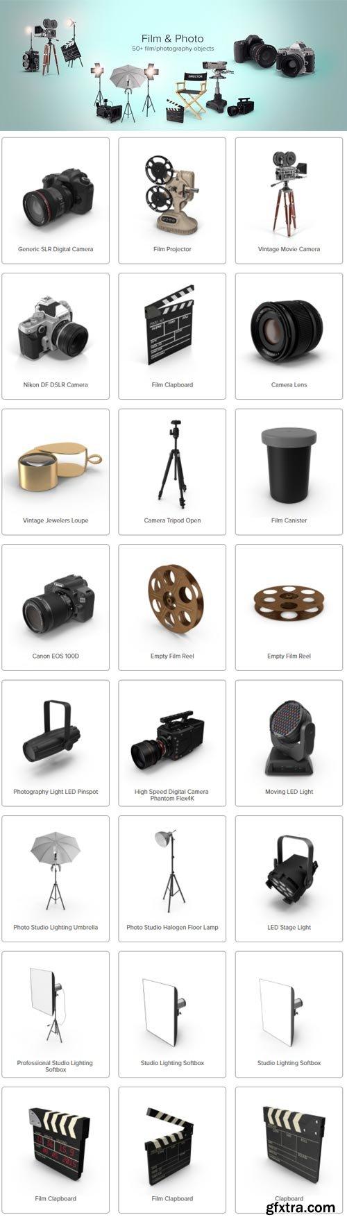 PixelSquid - Film & Photo Collection