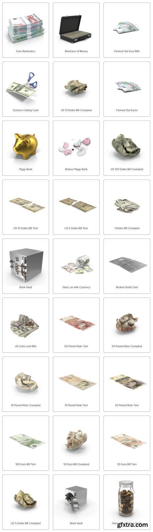 PixelSquid - Savings Collection