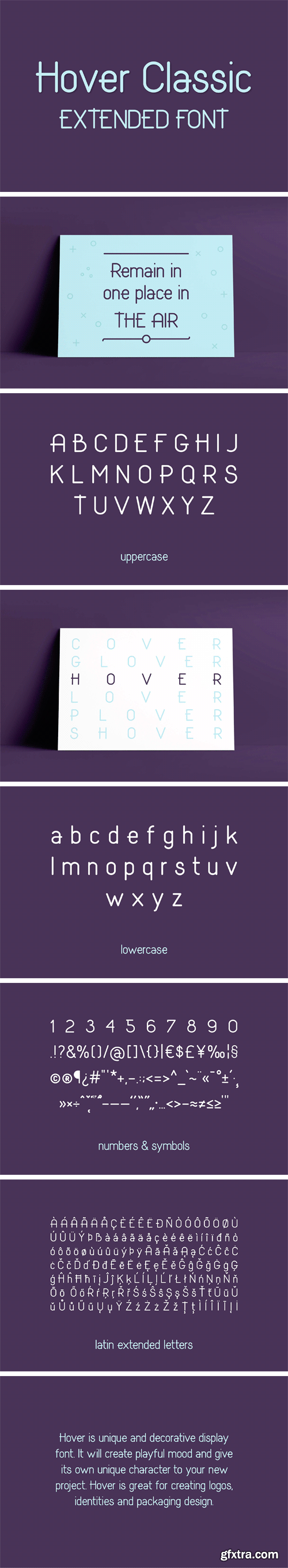 CM - Hover Classic Extended Font 2113225