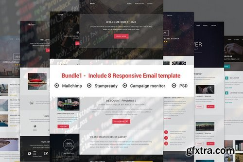CM - Bundle1 - Include 8 Responsive email 1307405