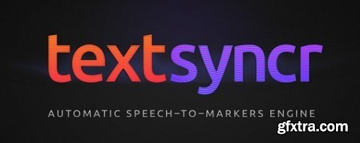 Textsyncr 1.0 - Plugin for After Effects