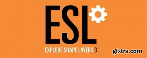 Explode Shape Layers 3 Plugin for After Effects