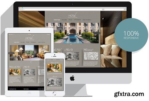 HotJoomlaTemplates - HOT Hotel - Joomla Template (Update: 11 October 17)