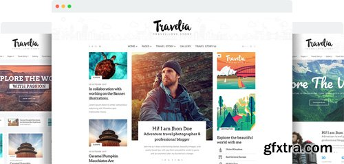 JoomShaper - Travelia v1.2 - The Best Joomla Template for Travel Blogs and Tour Guides