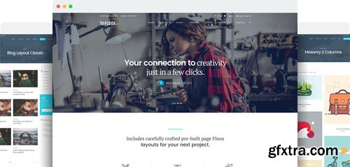 JoomShaper - Floox v1.4 - Multipurpose Joomla Template for Business, Corporate, and Agency Sites
