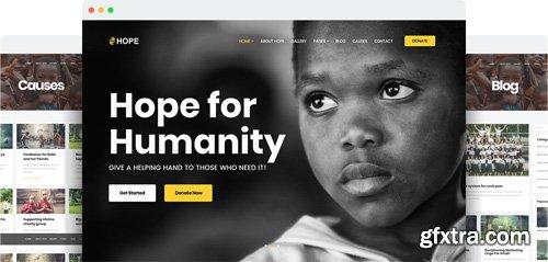 JoomShaper - Hope v1.2 - The Ultimate Charity, NGO, and Fundraising Joomla Template