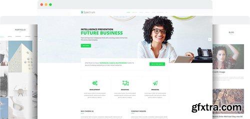 JoomShaper - Spectrum v1.4 - Premium Responsive Business, Corporate, Agency Joomla Template