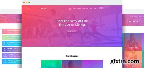 JoomShaper - Yoga v1.3 - Gym, Sport, Fitness Club Joomla Template
