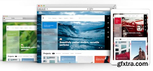 RocketTheme - Fluent v1.0.1 - Joomla Template