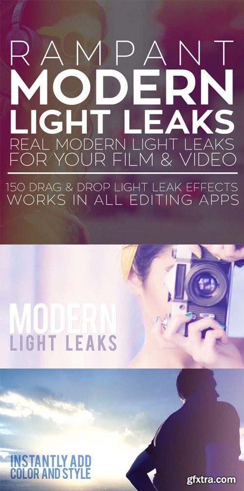 Rampant Design Tools - Modern Light Leaks