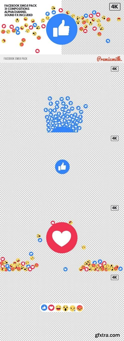 Videohive - Facebook Emoji Pack 19652886