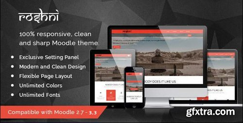 ThemeForest - Roshni v1.0.10 - Moodle Theme - 12777460