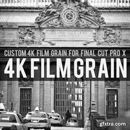 Brooklyn Effects - 4K Custom Film Grain For Final Cut Pro X