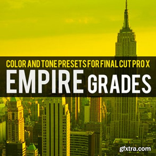 Brooklyn Effects - Color and Tone Present For Final Cut Pro X