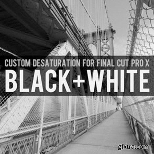 Brooklyn Effects - Custom Desaturation For Final Cut Pro X