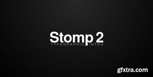 Videohive - Stomp 2 - Typographic Intro - 19788733